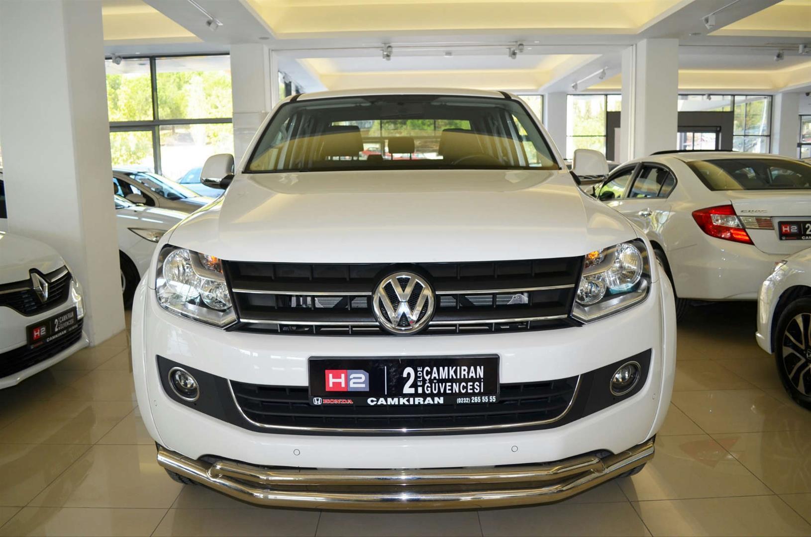 Volkswagen Amarok 20 Bitdi Highline J18 4x4 Otomatik çamkiran 2 El